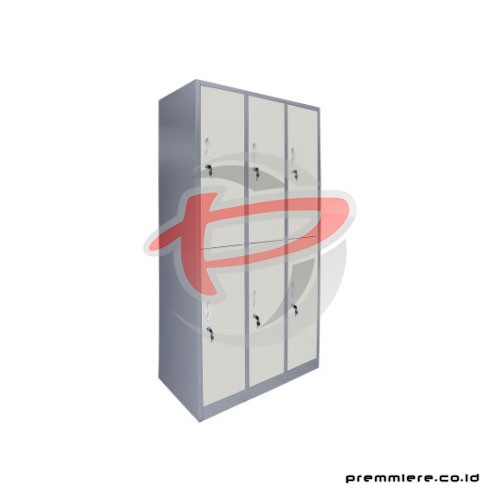 Locker 6 Pintu [CC-C6T-INT]