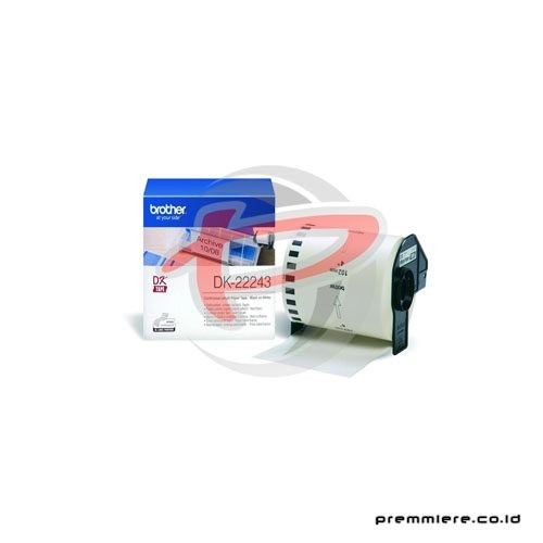 Continuous Length Film Clear Tape [DK-22243]