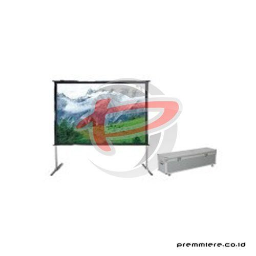 "Screen Projector Fast Fold Front & Rear 300"" Seamed [FAS-6040FR]"