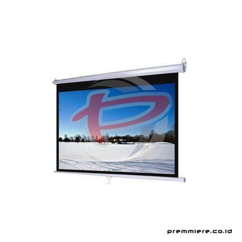 "Screen Projector Manual Wall Screen 100"" Diagonal [MWSDL1520L]"