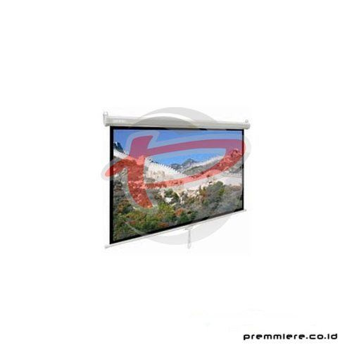 "Screen Projector Manual Wall Screen 84"" [MWSDL2121L]"