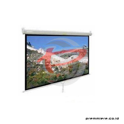 "Screen Projector Manual Wall Screen 120"" [MWSDL3030L]"