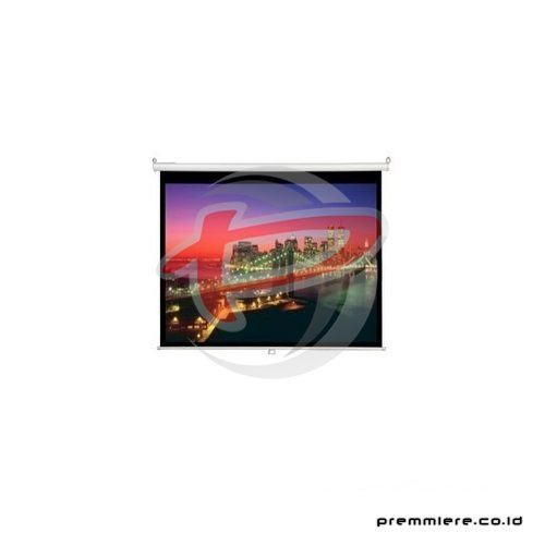"Screen Projector Manual Wall Screen 100"" Diagonal [MWSDR1520D]"
