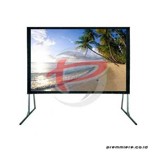 "Screen Projector Fast Fold Front & Rear 120"" Diagonal [FRMV1824]"