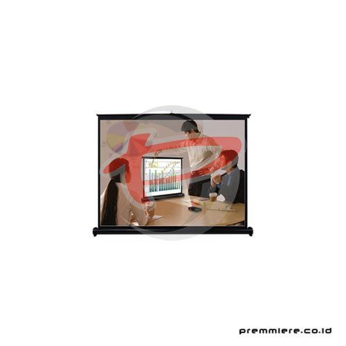 "Screen Projector Table 50"" Matte White (4:3)"