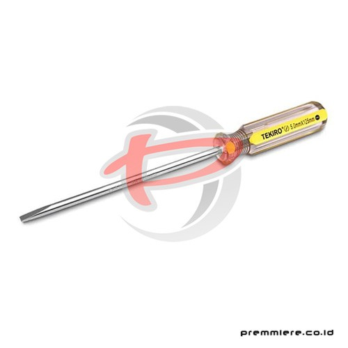 IN LINE COLOR SCREWDRIVER (-) 6 X 300 YELLOW