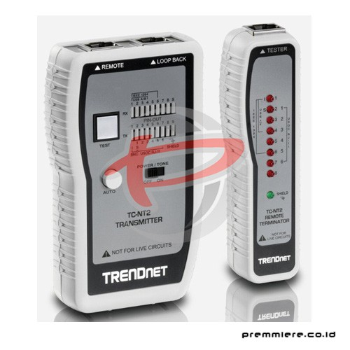 Network Cable Tester (TP & Coax) [TC-NT2]