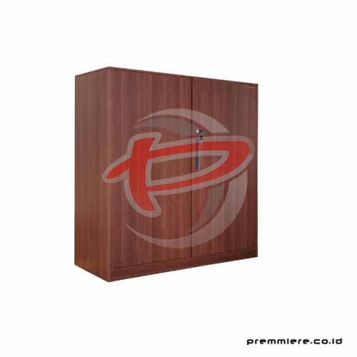 Almari Pintu Ayun (Half Height) [FC-A10Z WOOD DARK BROWN]