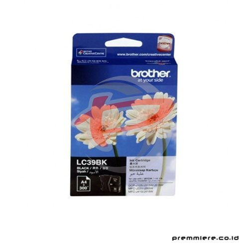 Black Ink Cartridge LC-39BK