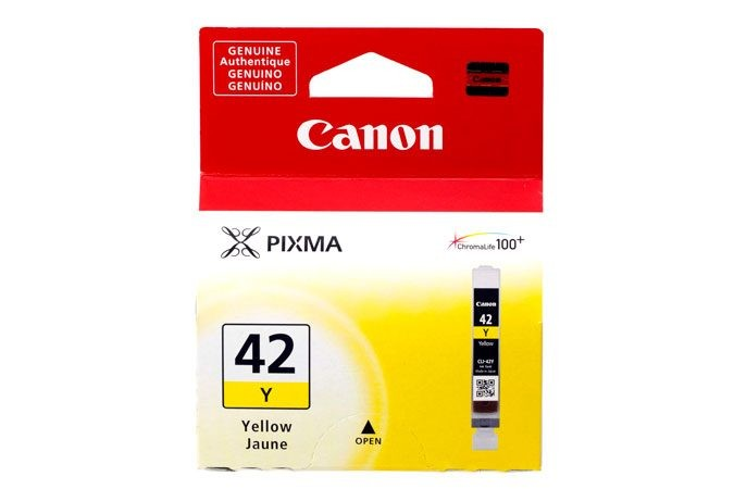 Yellow Ink Cartridge CLI-42Y