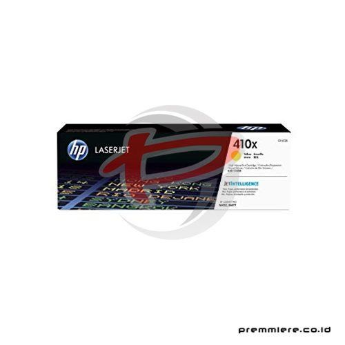 Yellow LaserJet Toner Cartridge 410X (CF412X)