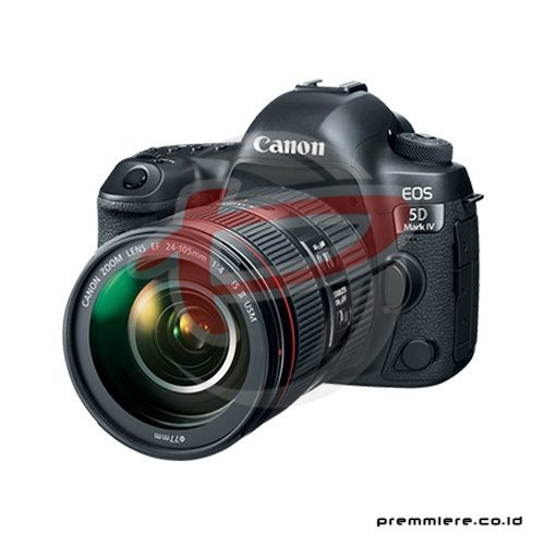 Digital EOS 5D Mark IV with lens 24-105mm + memory 32gb