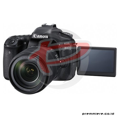 Digital EOS 80D with lens 18-135mm IS USM Wifi + memory 16gb