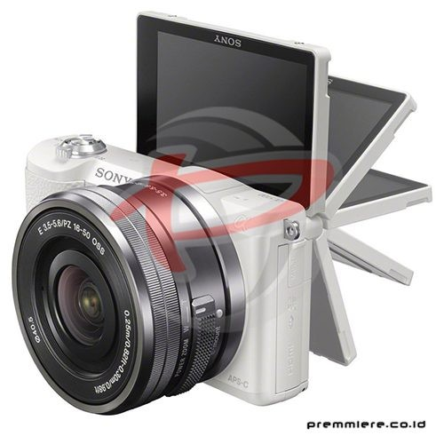 Mirrorless Digital Camera Alpha a5100 kit - White [ILCE-5100L]