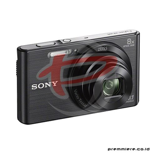 Cybershot DSC-W830 Compact Camera 8x Optical Zoom - Black