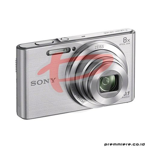 Cybershot DSC-W830 Compact Camera 8x Optical Zoom - Silver