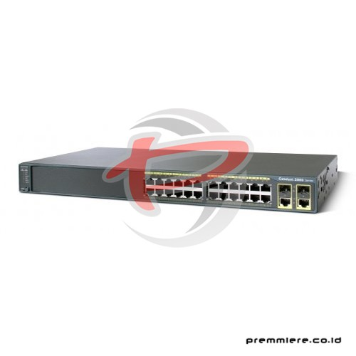 Catalyst 2960 Plus 24 10/100 + 2T/SFP LAN Base [WS-C2960+24TC-L]