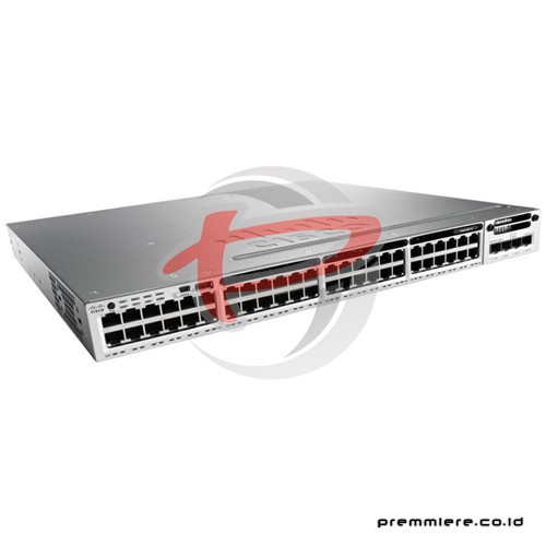 WS-C3850-48P-S Catalyst 3850 Switch With 12 Months Smartnet