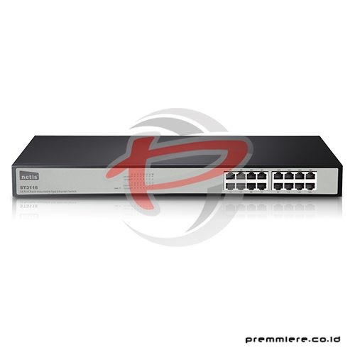 16 Port Fast Ethernet Rackmount Switch [ST3116]