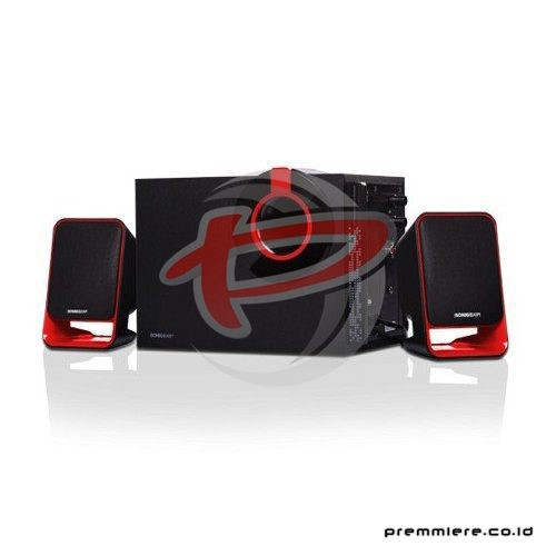Speaker 2.1 [Morro 3 BTMI] - Black Red