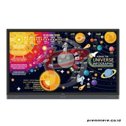 BENQ INTERACTIVE FLAT PANEL DISPLAY [RP7501K] 75 INCH