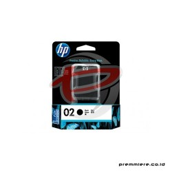 HP 02 AP BLACK INK CARTRIDGE [C8721WA]