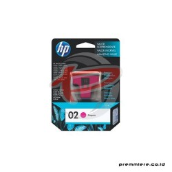 HP 02 AP MAGENTA INK CARTRIDGE [C8772WA]