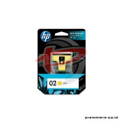 HP 02 AP YELLOW INK CARTRIDGE [C8773WA]