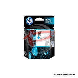 HP 18 CYAN INK CARTRIDGE [C4937A]