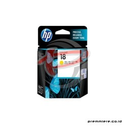 HP 18 YELLOW INK CARTRIDGE [C4939A]