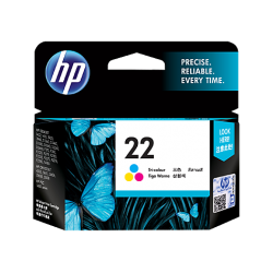 HP 22 TRI-COLOR INK CARTRIDGE [C9352AA]