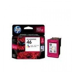 HP 46 TRI-COLOR INK CARTRIDGE [CZ638AA]
