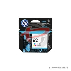 HP 62 TRI-COLOR INK CARTRIDGE [C2P06AA]