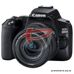 CANON DIGITAL EOS 200D II WITH LENS 18-55MM BLACK