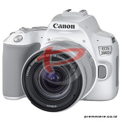CANON DIGITAL EOS 200D II WITH LENS 18-55MM WHITE