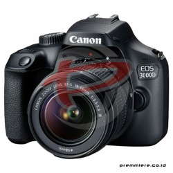 CANON DIGITAL EOS 3000D WITH LENS 18-55MM