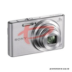 SONY CYBERSHOT DSC-W830 COMPACT CAMERA 8X OPTICAL ZOOM - SILVER