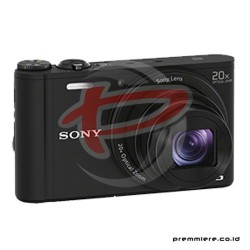 SONY CYBERSHOT DSC-WX350 COMPACT CAMERA 20X OPTICAL ZOOM - BLACK