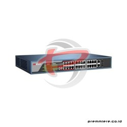 HIKVISION 24-PORTS 100MBPS UNMANAGED POE SWITCH [DS-3E0326P-E]