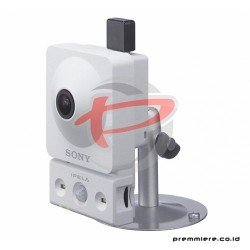SONY 720p/30 fps Wireless Network Camera with White-lite LED Illuminators [SNC-CX600W]