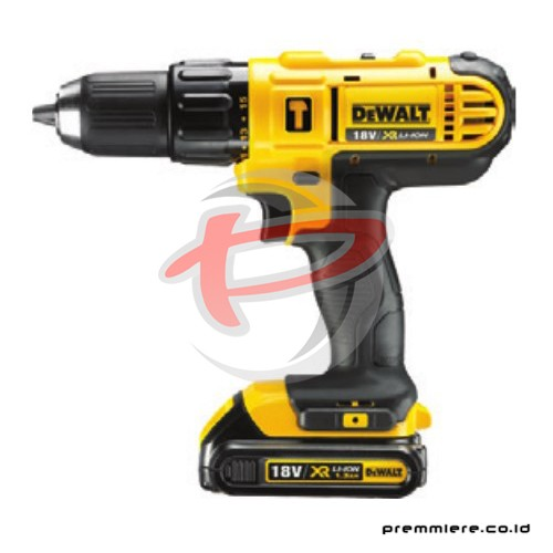 Hammer Drill with 1.3Ah Battery 18V Li-Ion  [DCD776C2-B1]