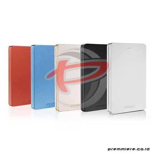 Canvio Alumy 3.0 Portable Hard Drive 1TB