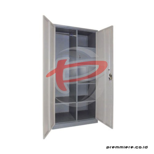 Almari Pintu Ayun Plat + Locker (Full Height) [CC-DZA-INT]