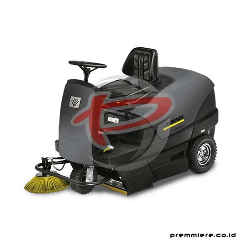 Ride-on vacuum sweeper [KM 100/100 R D]
