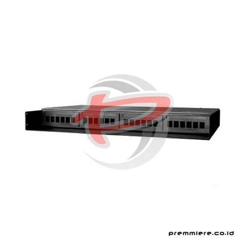 1U, 12-Port, Rack Mount, Fiber Patch Panel (DFXOX12RXXXX)