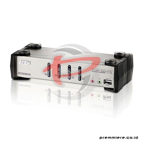 4-Port PS/2-USB VGA/Audio KVMP™ Switch with OSD [CS1734B]