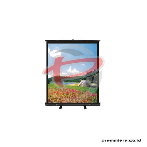 "Screen Projector Pull Up Floor Handy 60"" [HAN-60F]"