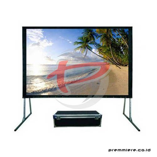 "Screen Projector Fast Fold Front & Rear 200"" (4:3)"