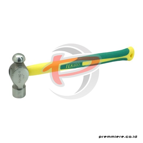 BALL PEIN HAMMER WITH FIBRE 08 OZ