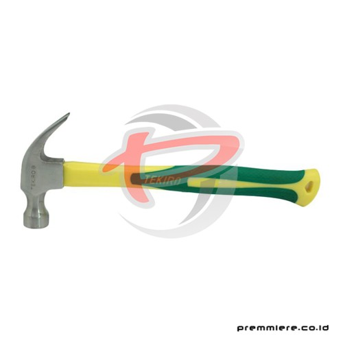 CLAW HAMMER WITH FIBRE 16 OZ
